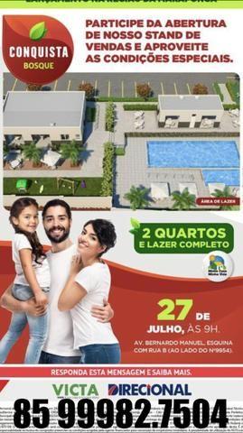 Apartamento 2 quartos - a partir de 999 reais de entrada