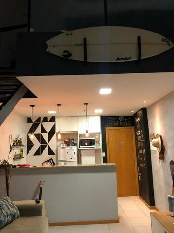 Loft 1 quarto duplex, andar alto, nascente no loteamento aquarius ! - Foto 3