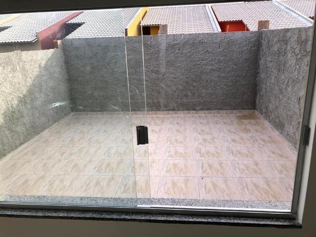 Casa com fino acabamento garagem coberta até 100% financiada pelo Minha Casa Minha Vida - Foto 12
