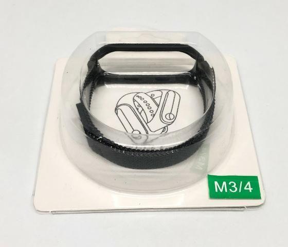 Pulseira Para Relógio Mi Band M3 e M4 de Aço Inoxidável Produto Novo - Foto 5