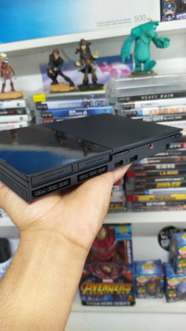 Playstation 2 Super Slim destravado + garantia+ benefício