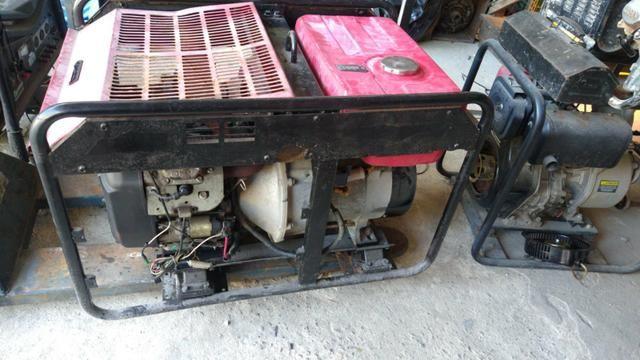 Gerador 10kva 220v monofasico gasolina - Foto 2