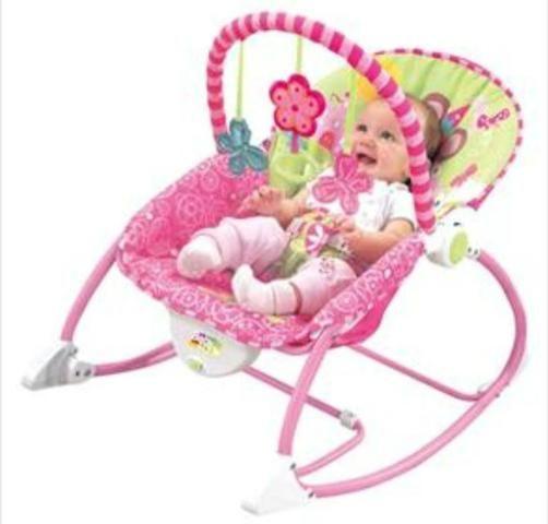 Cadeira de Descanso bebê Vibratória Princesas - Baby Style