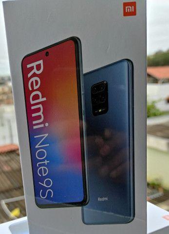 Pra hoje! REDMI Note 9s* da Xiaomi. Novo Lacrado com Garantia e Entrega imediata