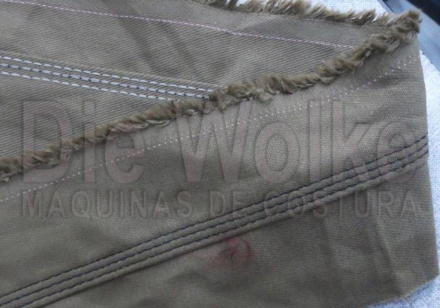 Fechadeira Plana 3 agulhas - Máquina de Costura Usada - Foto 4