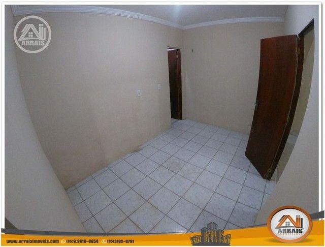 Casa com 3 dormitórios para alugar, 90 m² por R$ 900,00/mês - Vila União - Fortaleza/CE - Foto 8
