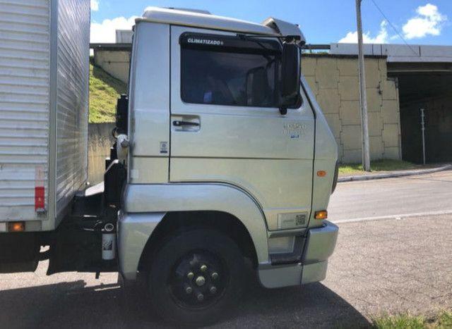 Caminhão 3/4 VW 9150 baú  - Foto 3