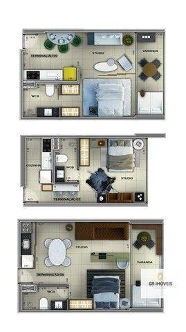 Apartamento à venda, 1 quarto, 1 vaga, Cruz das Almas - Maceió/AL - Foto 16