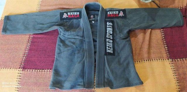 Kimono KEIKO, trançado, Jiu-jitsu, M1