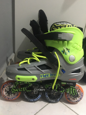 Patins Oxer Inline Freestyle abec  - Foto 2