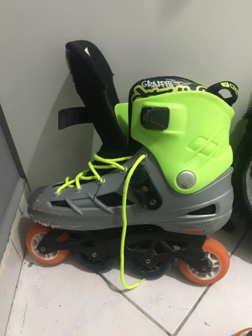 Patins Oxer Inline Freestyle abec  - Foto 4