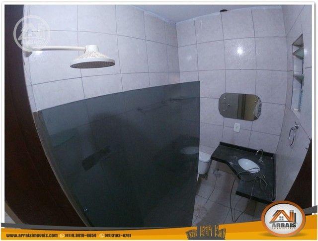Casa com 3 dormitórios para alugar, 90 m² por R$ 900,00/mês - Vila União - Fortaleza/CE - Foto 9