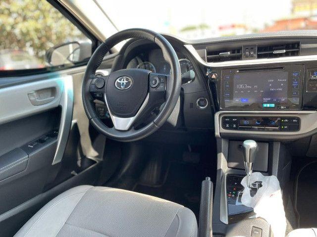 Toyota Corolla Xei 2018 Blindado Impecável - Foto 15