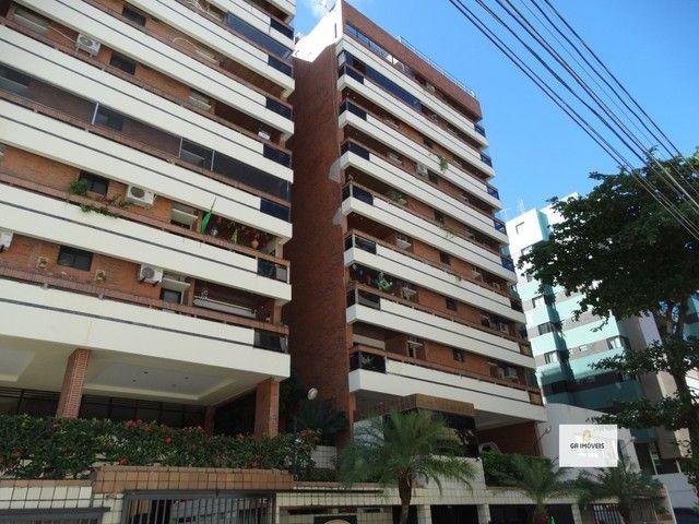 Apt 154 m², 2 quadra da praia da Jatiúca 3 quartos2 suítes varanda em todos os quartos só