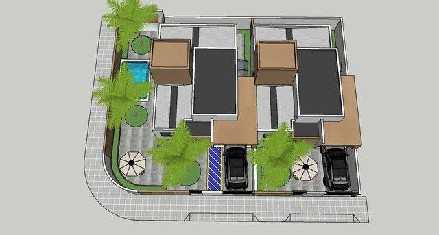 Casa solta de esquina, 3 qts, com piscina! - Foto 3