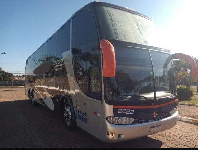 Ônibus Marcopolo Paradiso 1550 G6 Mercedes 0500 Rsd Turismo - Foto 2