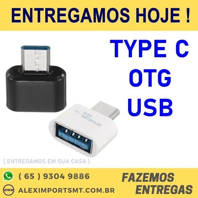 Adaptador Pen Drive Otg Celular Samsung Tipo C Otg
