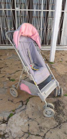Carrinho de bebê menina Galzerano