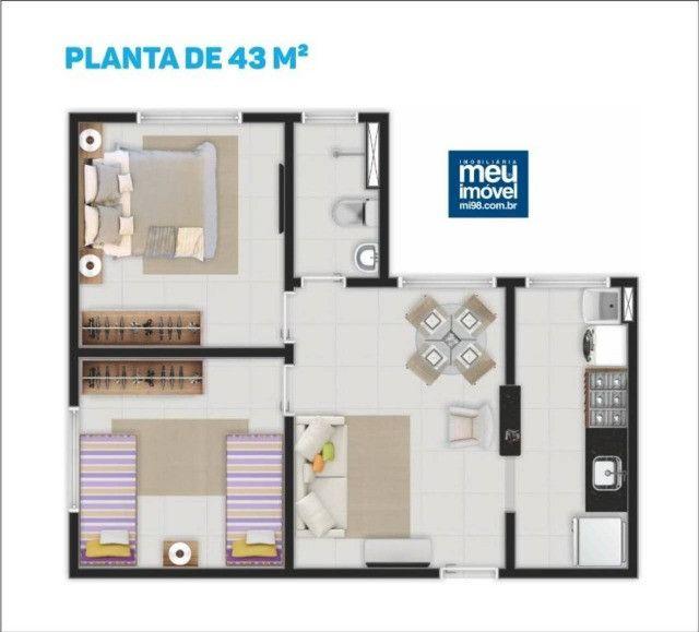 86/ Apartamento, com ótima oportunidade para sair do aluguel. - Foto 6
