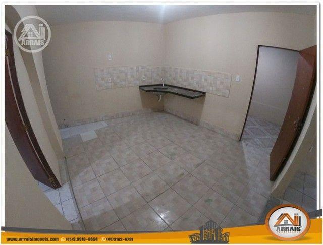 Casa com 3 dormitórios para alugar, 90 m² por R$ 900,00/mês - Vila União - Fortaleza/CE - Foto 11