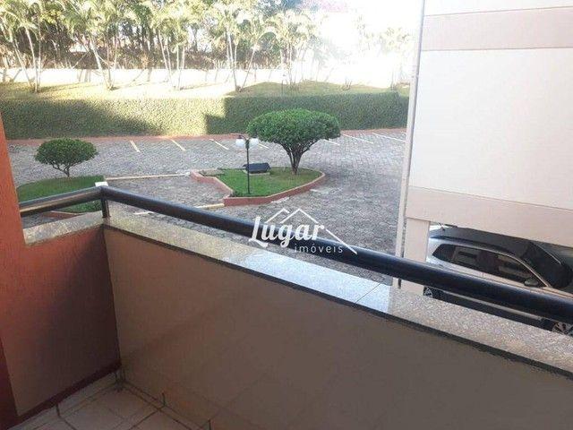 Apartamento com 2 dormitórios para alugar, 70 m² por R$ 800,00/mês - Jardim Aquárius - Mar - Foto 3