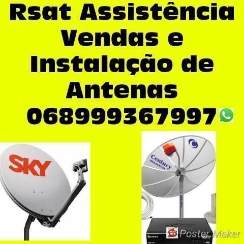 Técnico de Antenas ANTENAS instalador instalação sintonia