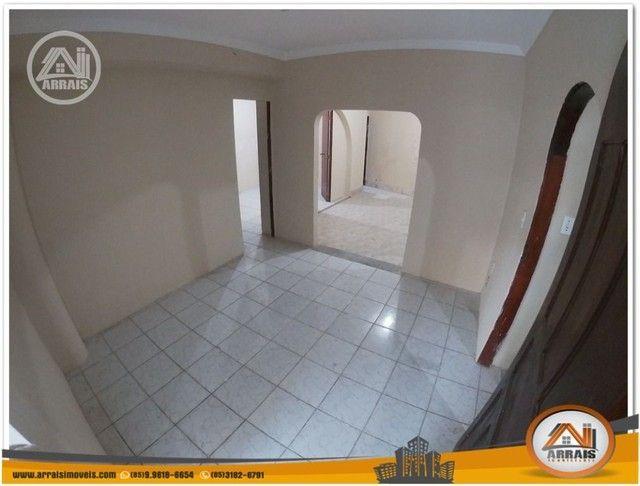 Casa com 3 dormitórios para alugar, 90 m² por R$ 900,00/mês - Vila União - Fortaleza/CE - Foto 6