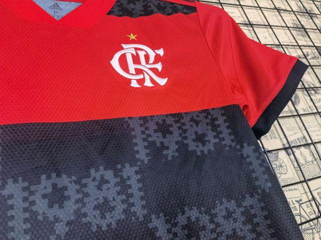 Camisa do Flamengo Feminino  - Foto 2