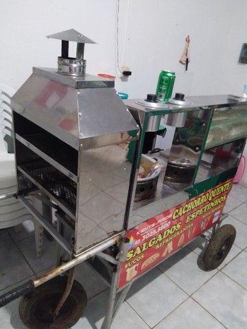 carrinho de churrasquinho - Foto 2