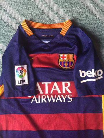 Camisa original do Barcelona (FCB) - Infantil