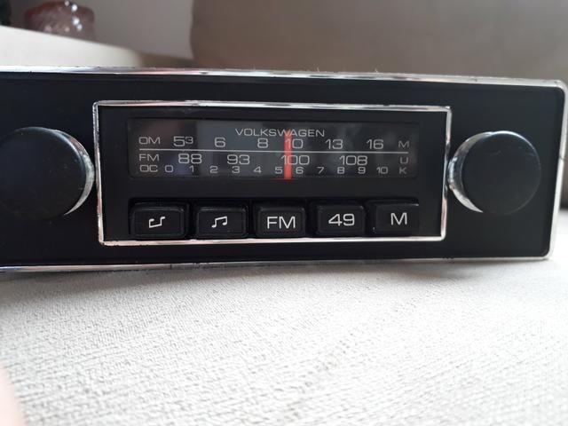 Radio do fusca volkswagem