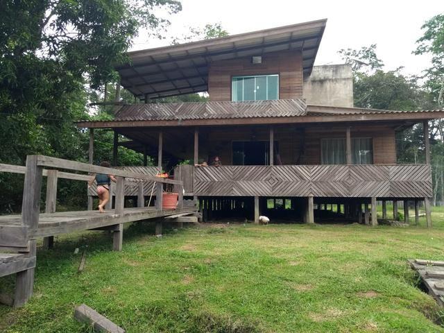 Sitio no km 24 município de Macapá comunidade do ariri