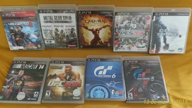Jogos de PlayStation 3 Originais