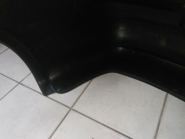 Parachoque traseiro Corsa sedan