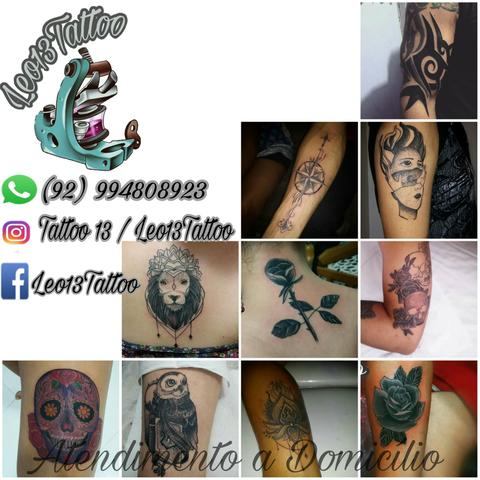 Tatuagens promocionais atendimento na sua casa se preferir