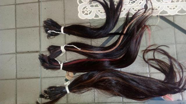 Vendo cabelo humano 220,00