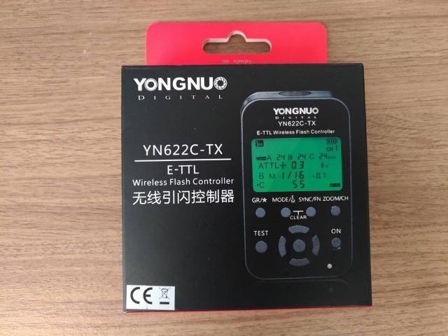 Transmissor Rádio Flash Yongnuo YN-622C TX para Canon. Novo