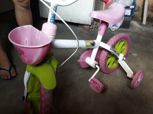 Bicicleta da galinha pintadinha