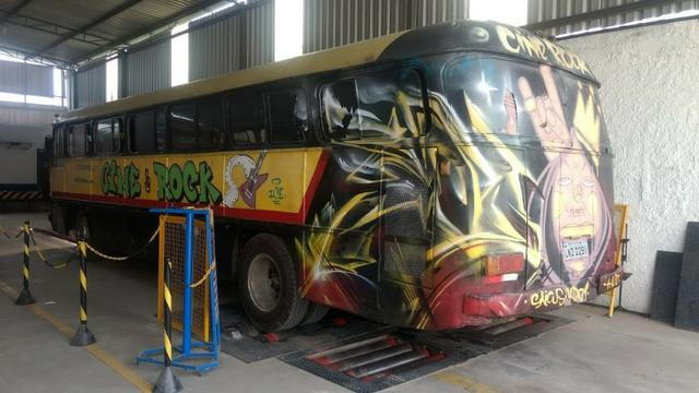 Ônibus Monobloco, mecânica ok e pneus novos - Troco por Van ou Carro do meu interesse - Foto 6
