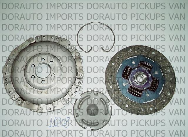 Kit embreagem golf cordoba/ibiza 1.8 94/98 210mm/24 estr - Foto 3