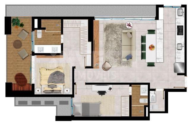 Apartamento à venda com 2 dormitórios em Setor bueno, Goiânia cod:620914 - Foto 7