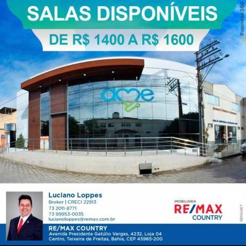 Sala para alugar, 40 m² por R$ 1.600/mês - Centro - Teixeira de Freitas/BA