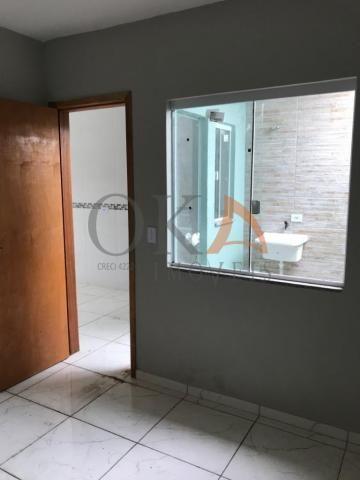 Casa de esquina 01 dormitório com preparação para ático em curitiba é na oka imóveis - Foto 10