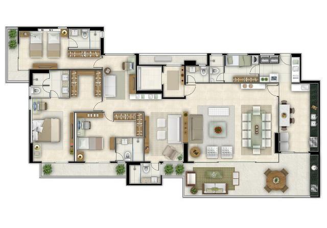 Campobelo Condominio 220m - Cocó - 4 suites - 4 vagas - oportunidade pagamento facilitado - Foto 5