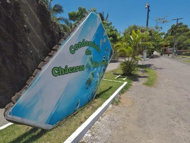 Chácara dos sonhos c/ casa de 3 quartos, piscina e área de 1000 m²,600 m da praia - Foto 19