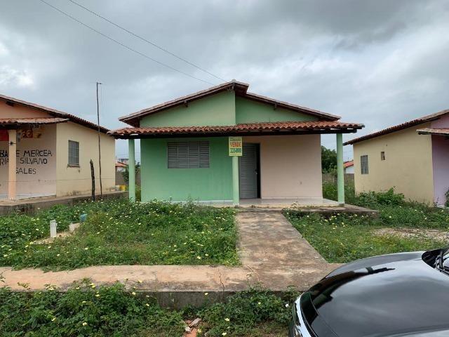 Casas Prontas para Morar em Demerval Lobão-Pi com 58m²- Sala, 02 dormitórios