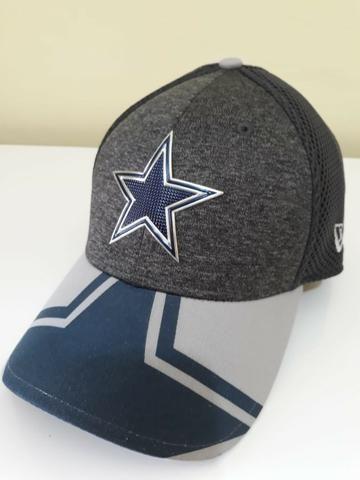577f37f78 Boné New Era Aba Curva Fechado NFL Dallas Cowboys Original ...