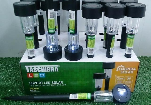 Espeto Led solar DECO 07 6500K Taschibra - Foto 3
