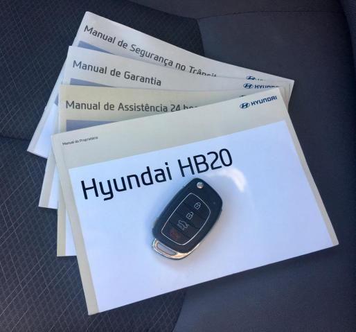 HYUNDAI HB20 2017/2018 1.0 COMFORT PLUS 12V FLEX 4P MANUAL - Foto 20