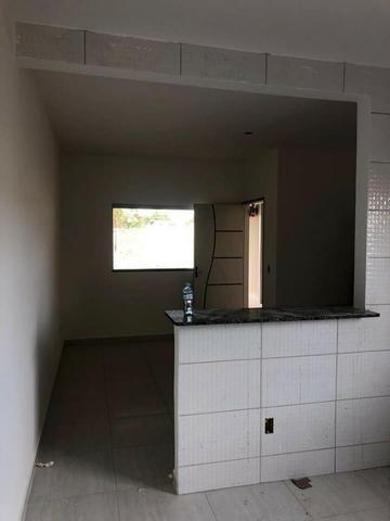 Casa com fino acabamento garagem coberta até 100% financiada pelo Minha Casa Minha Vida - Foto 7